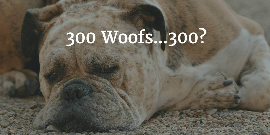 300 words per article - minimum