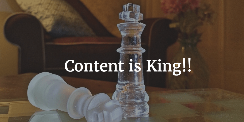 Your website content is the most important message