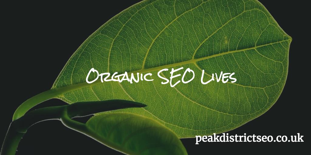 Organic SEO Lives